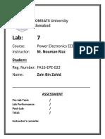 Power Electronics Lab