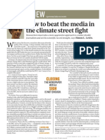 How to Beat the Media in the Climate Street Fight