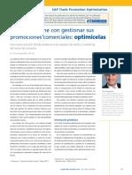 SAP Trade Promotion Optimization