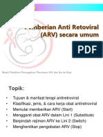 ARV utk umum