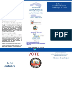 Folder Eleição Conselho tutelar castro 2019