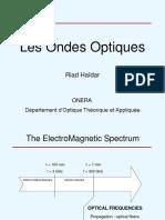 Les ondes optiques