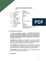 1. Silabo Ingenieria Economica 2019