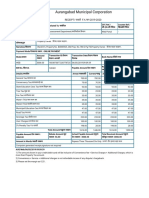 __ Aurangabad Municipal Corporation Payment Receipt _