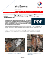 Steam explosion during a re-injection into a leak sealing clamp.pdf