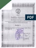 Akreditasi Kimia 2014-2019