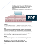 Fundamental Data Concept