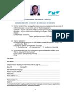 Application Form EMSE 2019