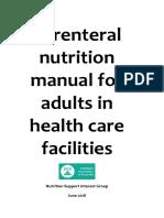 Parenteral Nutrition Manual June 2018 Website
