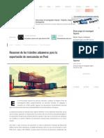 Resumen de Los Trámites Aduaneros Para ..