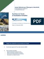 Programme national pour l'émergence industrielle, Plan de développement intégré du secteur industriel marocain.ppt