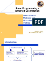 Direct search methods for unconstrained optimization.ppt