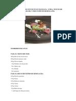Tronco de Foie Envuelto en Manzana Ácida Recipe