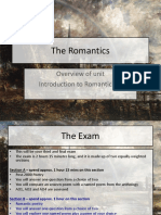 01. Introduction to Unit and Romanticism