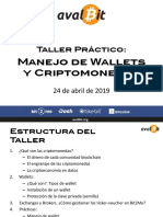 Taller de Wallets y Criptos_abril2019