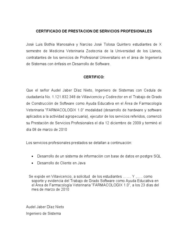 Lujoso Servicio De Certificados Ejemplo De Carta Adorno ...