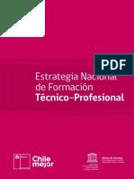Estrategia Nacional de Formación Técnico Profesional
