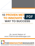 10 Proven Methods to Innovate