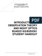 B2A0221XQ-B2E0301 Introduction to Observation Theory and Night Optics