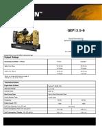 Ficha Tecnica Motor Perkins 403d-15g