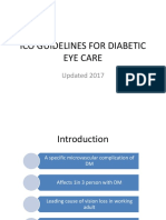 Ico Guidelines for Diabetic Eye Care