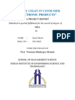PROJECT ON THE SUPPLY CHAIN MANAGEMENT IN CONSUMER ELECTRONIC PRODUCTS.docx