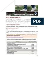 Becas Interrail 2019