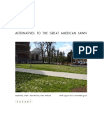 Alternatives to the Great American Lawn