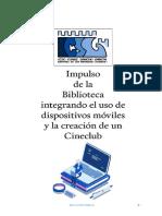 Memoria Plan de Mejora 2018-2019 - Biblioteca y Cineclub