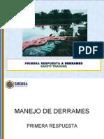MANEJO DE DERRAMES