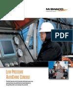 Low Pressure Autochoke Spanish Brochure
