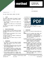 NT Mech 009_Pressure Balances_Calibration_Nordtest Method