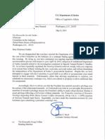 Letter to Jerrold Nadler