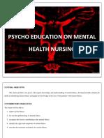 PsychoEducation Mental Illness. 1