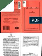 Treem, Sarah 'a Feminine Ending' Script (2007)