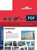 SunRace 2017-2018 Catalogue