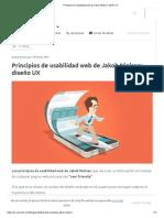 Principios de Usabilidad Web de Jakob Nielsen_ Diseño UX