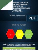 DisRAP Presentation Guide 3rd Quarter for Every Teacher to Report
