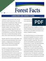 Landslides Debris Flows Fact Sheet