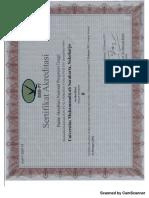 sertifikat Akreditasi Ums