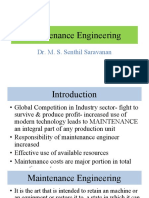 Maintenance Engineering Lecture Module I.pdf