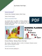 Economic planning.docx