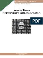 Tasca, Angelo. - Interviste sul fascismo [1934-1936].pdf