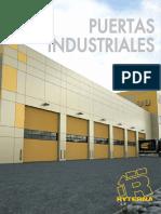 Ryterna. Catálogo 2019 de Puertas Industriales