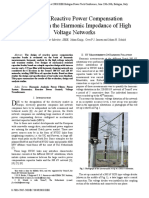 7-Impact of Reactive Power Compensation Equipment on the Harmonic Impedance of High Voltage Networks