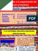 PRESENTACI+ôN EXPERIENCIA ESCUELA