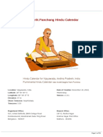 2019 Drik Panchang Hindu Calendar v1.0.1