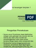 Akuntansi Keu Lanjut 1 - Pembentukan persekutuan