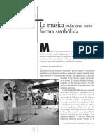 Cruz_La Música Tradicional Como Forma Simbólica