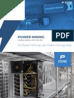 Power Mining Crpyo Container GPU 104 Brochure